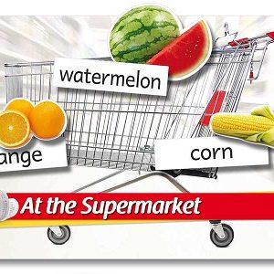 supermarket active poster