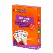 משחק הפעלים, משחק של gamelish ללימוד דקדוק,  לימוד הזמנים הבסיסיים באנגלית בכיף, משחק הפעלים באנגלית,  תרגול וחזרה על משפטי שאלה, שלילה וחיובי בזמנים בהווה, עבר ועתיד the verb game